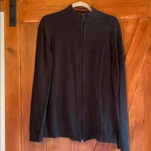 Men's DKNY zip up sweater XL